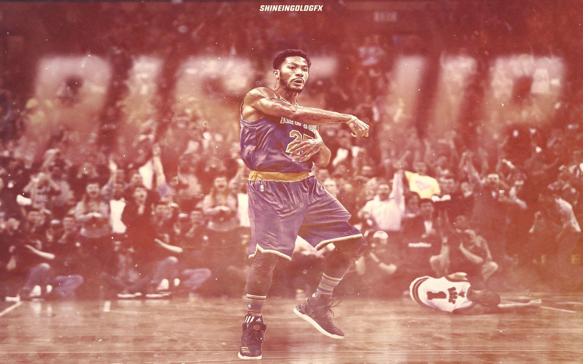 Derrick Rose Knicks Wallpapers For Iphone Desktop Wallpaper Box