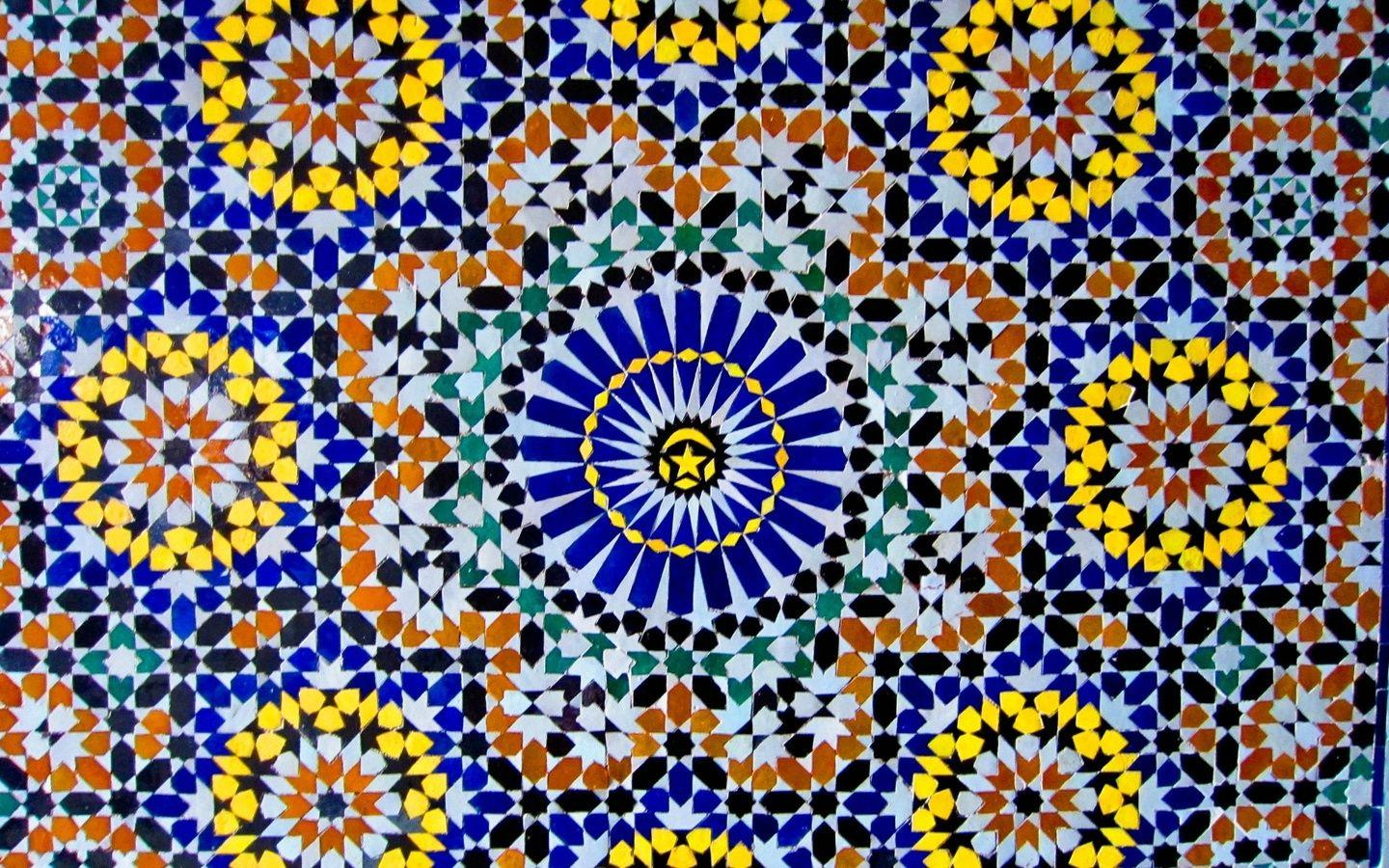 moroccan pattern wallpapers artsfon 69005