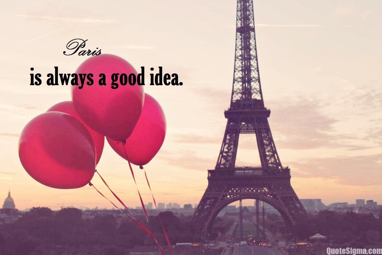 Wallpapers Paris Pink Love