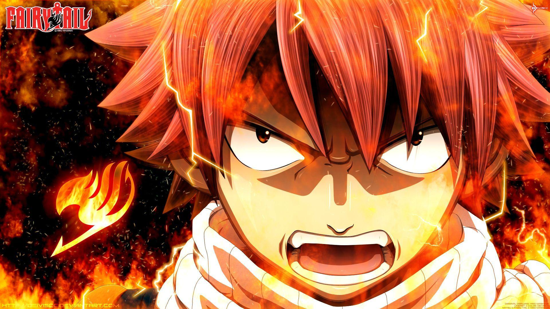 Fairy Tail Anime Wallpapers Natsu Wallpaper Cave