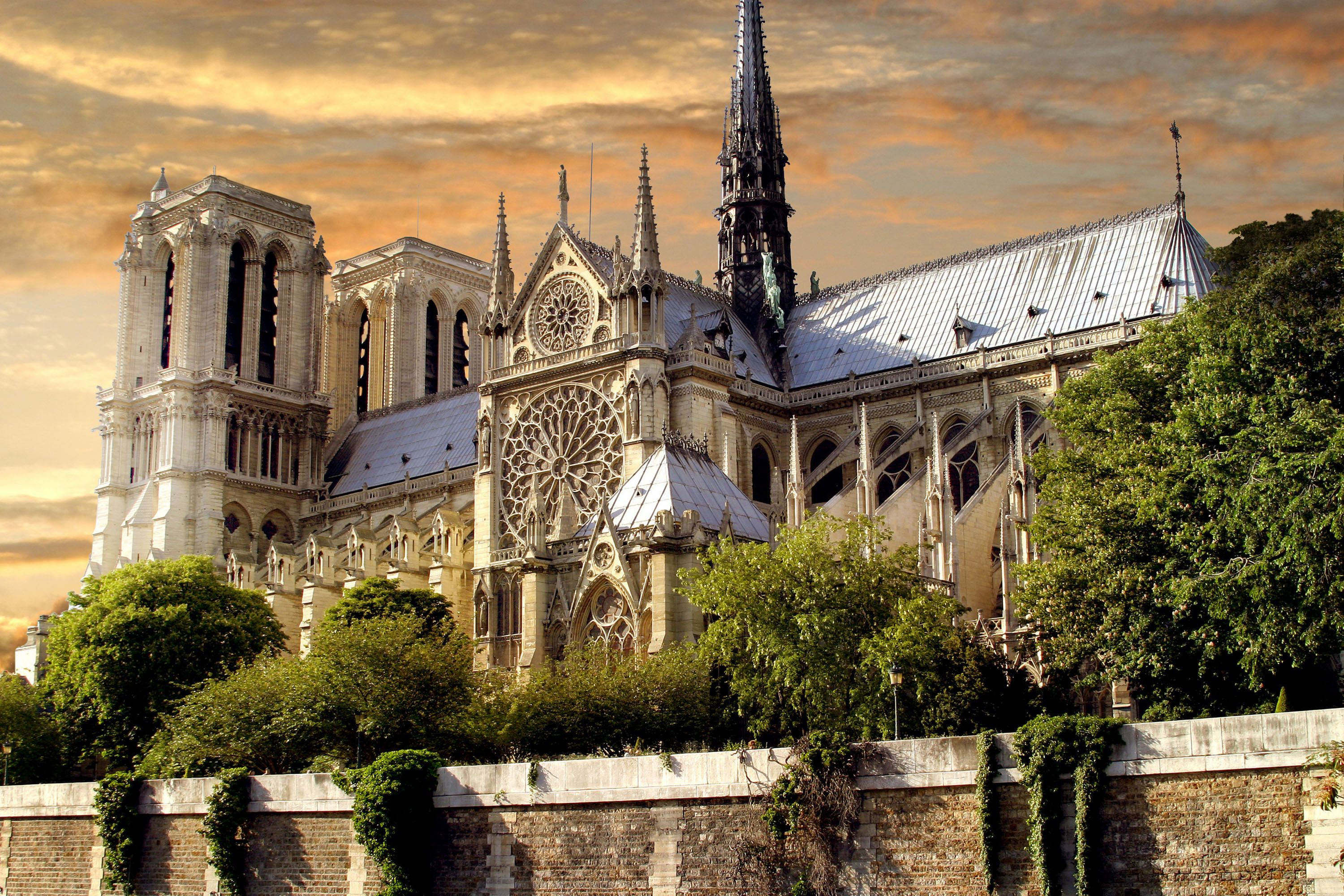Notre Dame Cathedral Wallpapers Wallpaper Cave