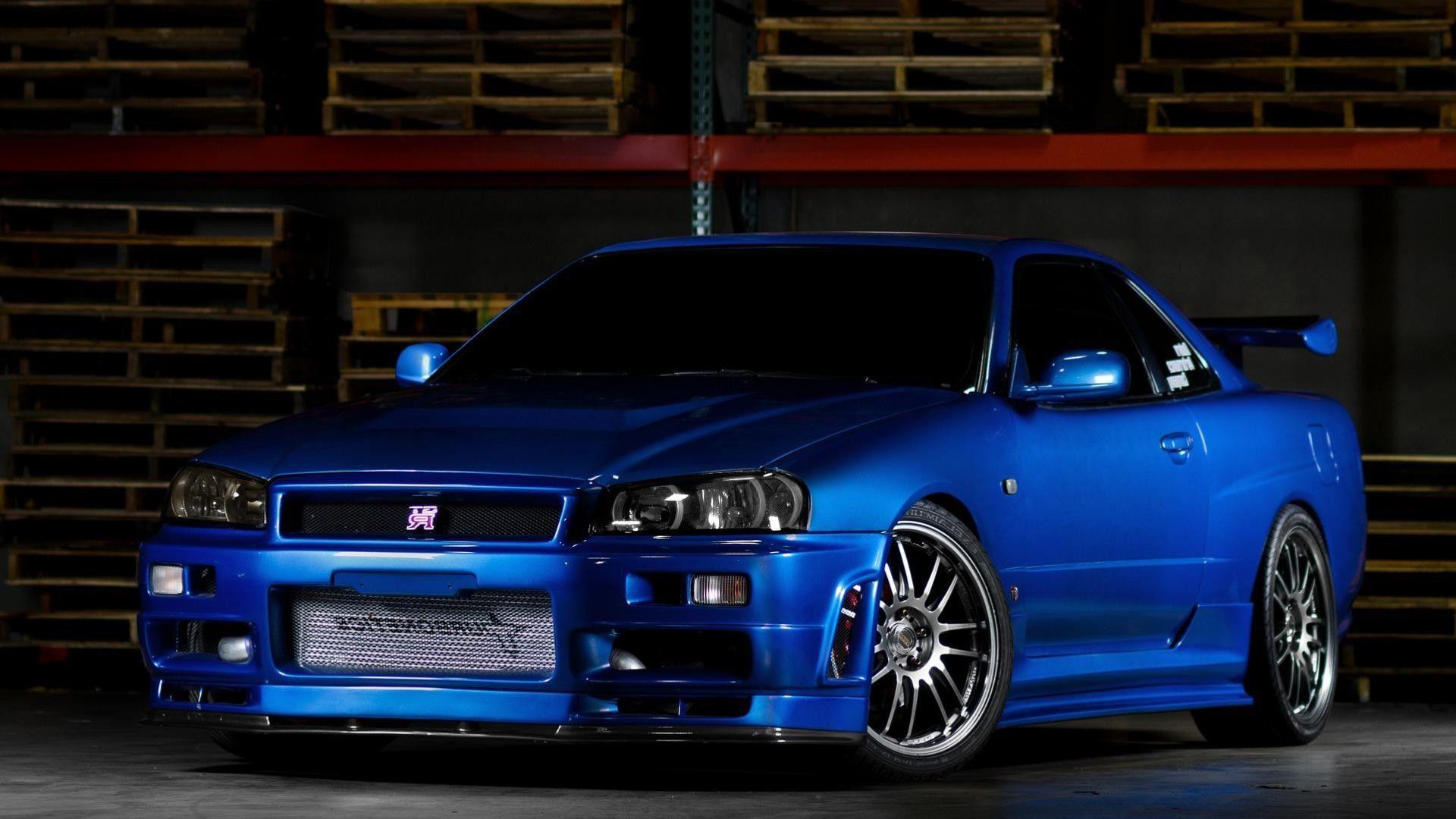 Nissan Skyline Gtr Wallpapers Blue Wallpaper Cave