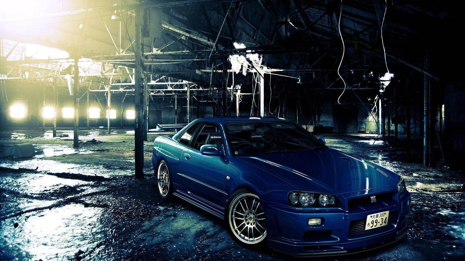 Nissan Skyline GTR R34 Wallpapers – Wallpaper Nissan Skyline GTR