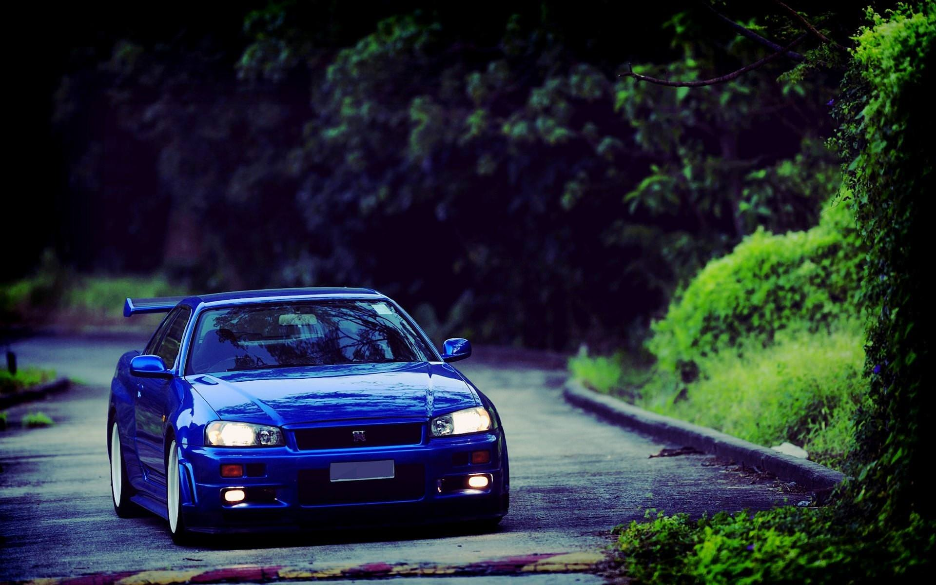 Blue Nissan Skyline Gtr R34 Wallpapers 8458 Download Page