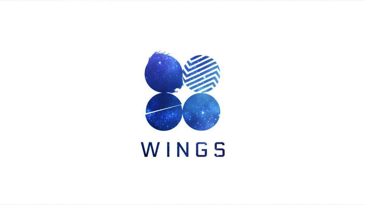 bts wings logo wallpapers wallpaper cave