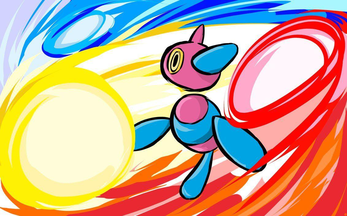 Porygon-Z | Tri-Attack by ishmam on DeviantArt