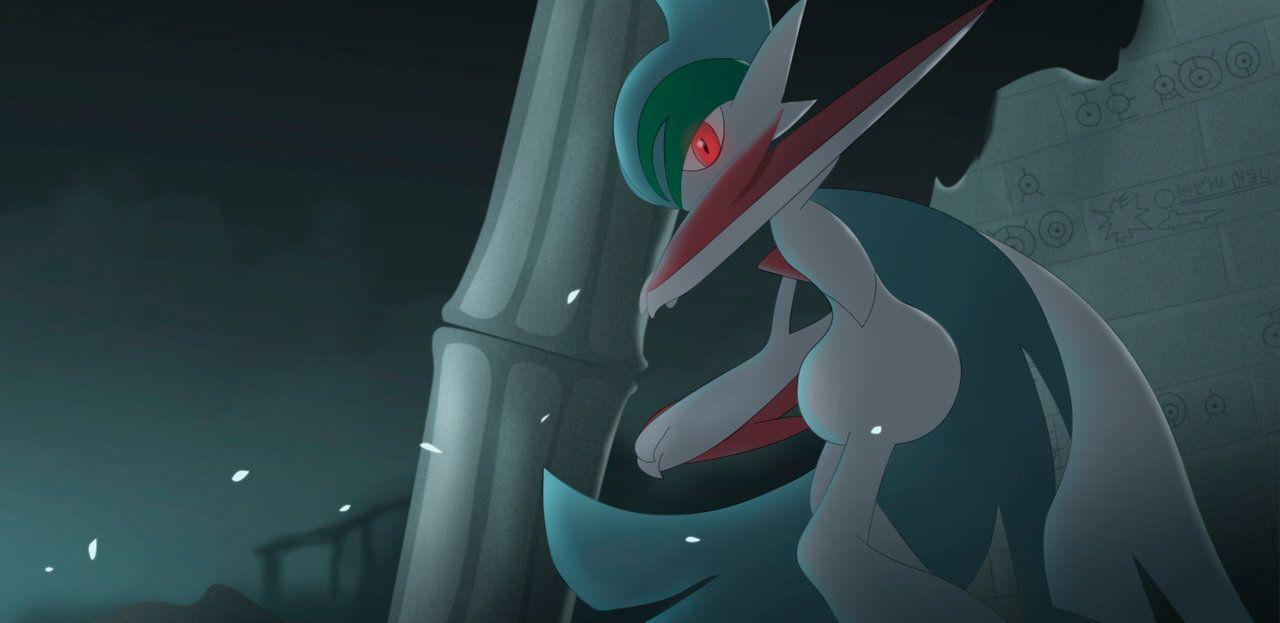 Mega Gallade by All0412