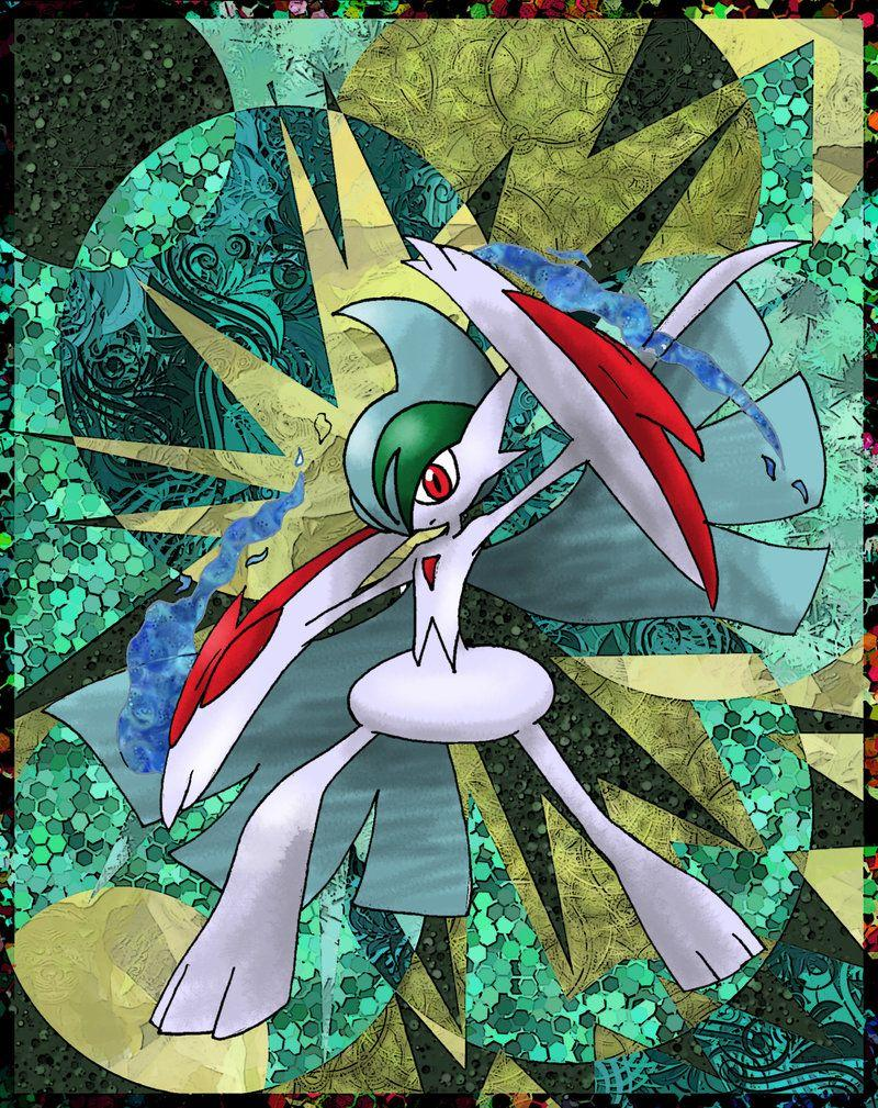 Mega Gallade by Macuarrorro
