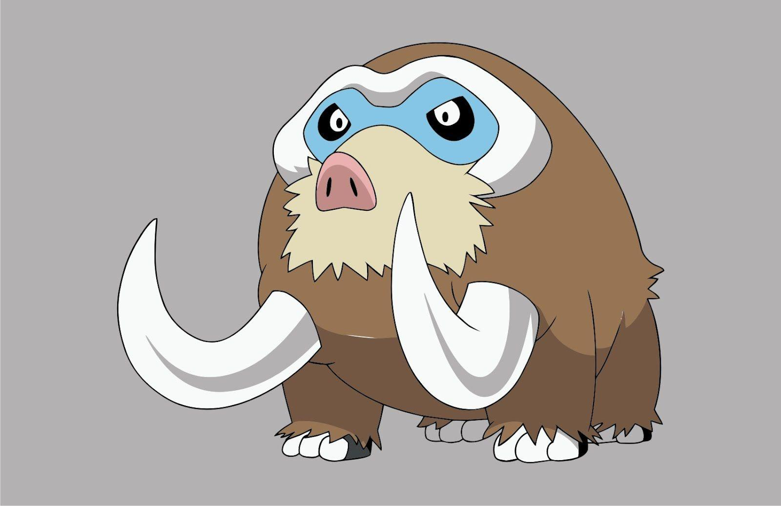 Pokemon Mamoswine