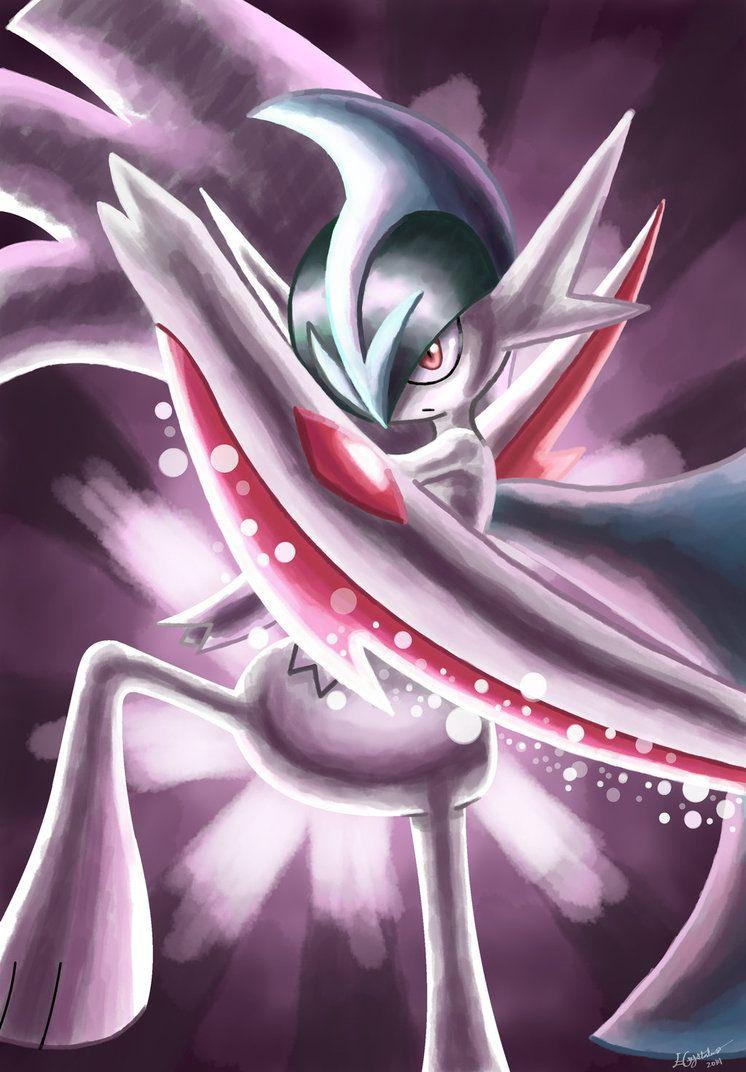 Request: Mega Gallade's Psycho Cut by ECrystalica