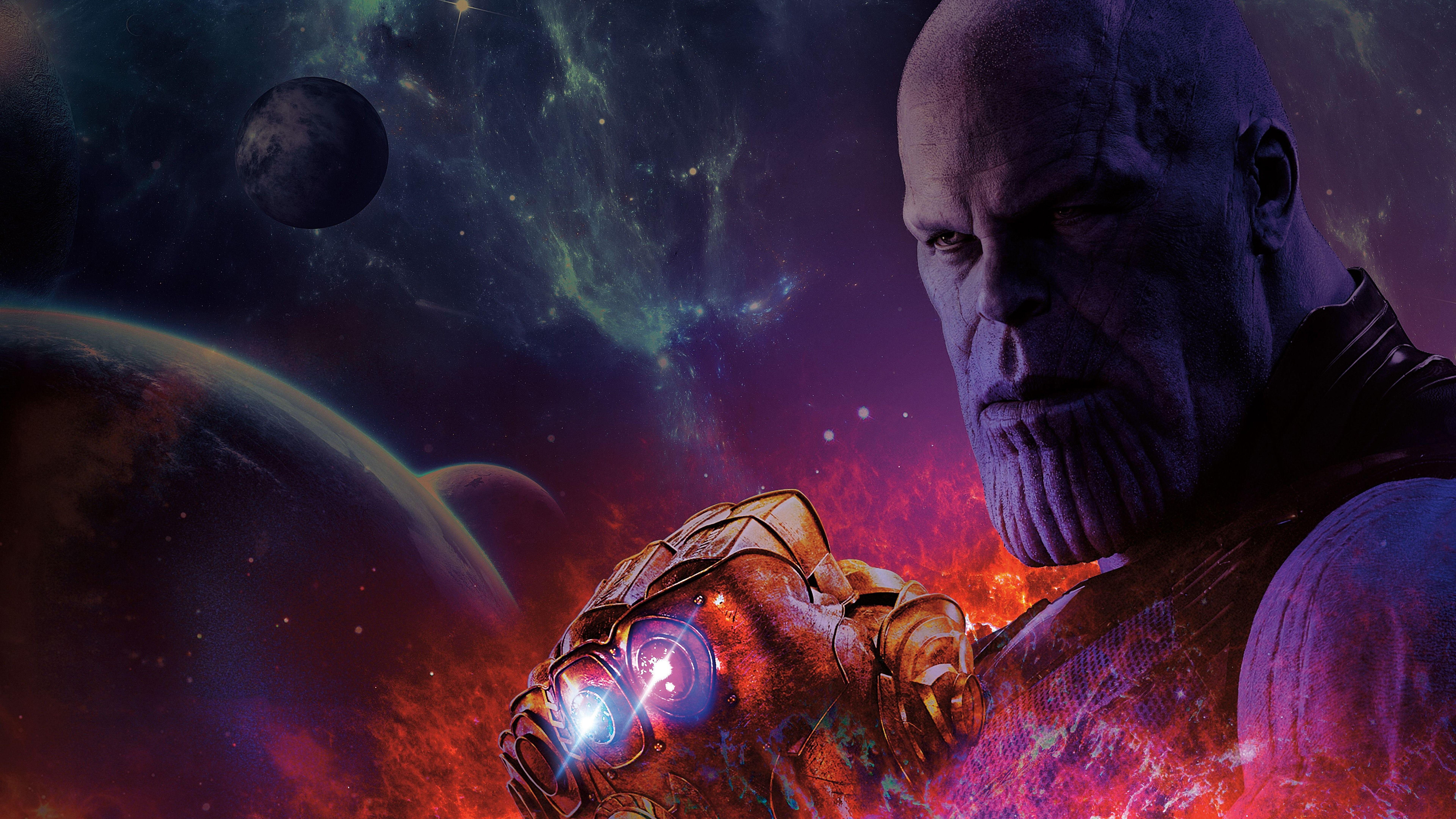 Thanos Hd Wallpaper: Thanos Infinity War Wallpapers