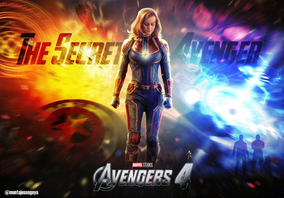 Montajes Asgaya ☄ on Twitter: Wallpapers Avengers 4. @brielarson