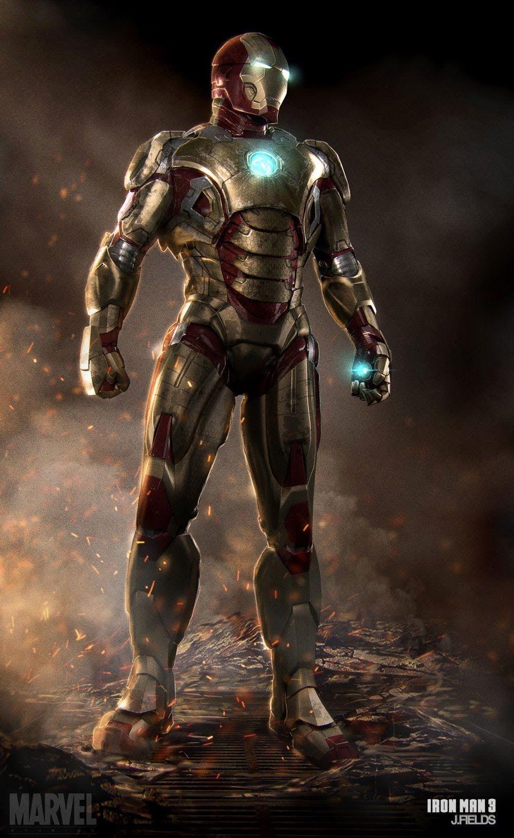 Iron Man Wallpaper 34447: Iron Man Mark 50 Wallpapers