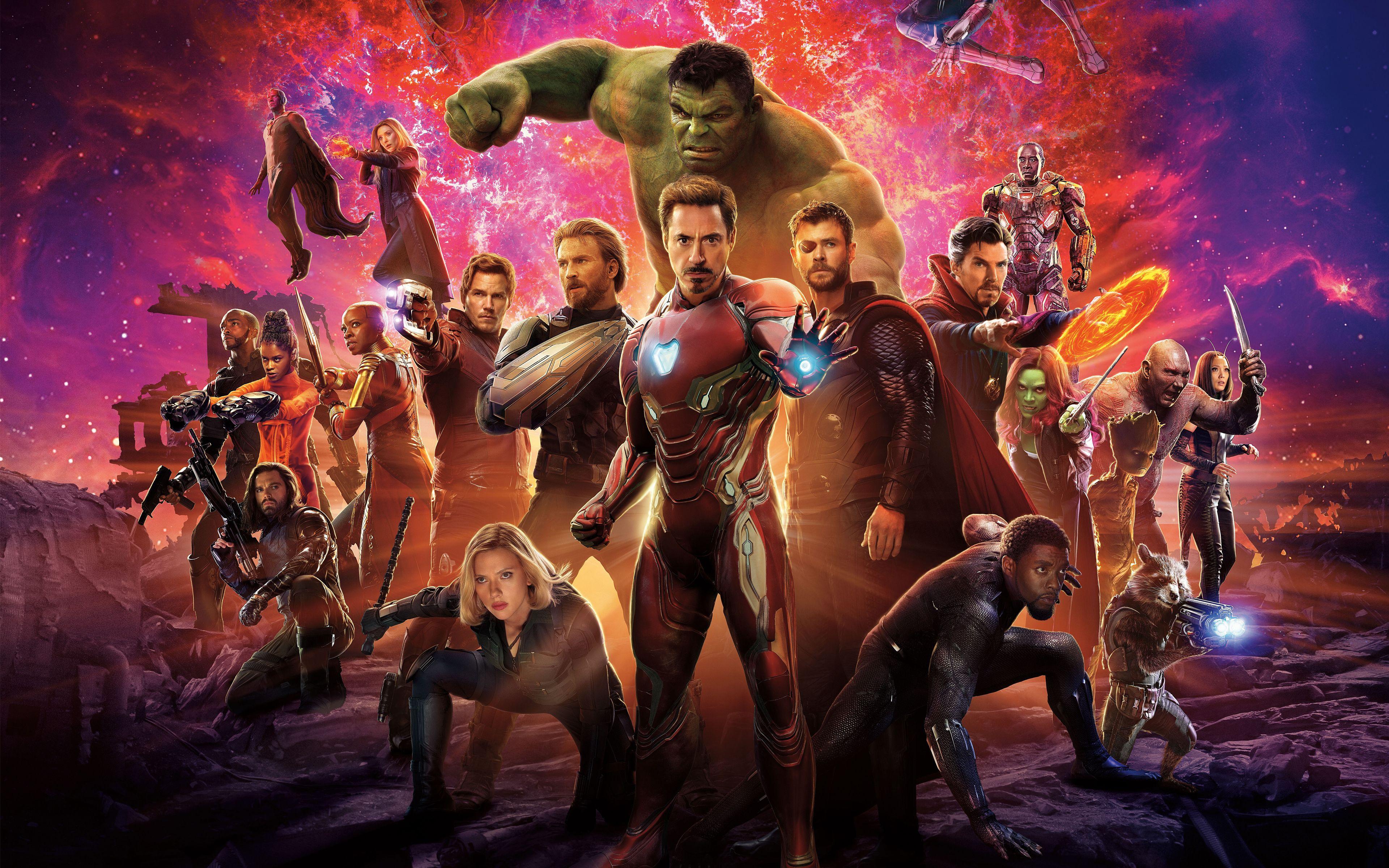 Avengers: Infinity War 4K Wallpapers - Wallpaper Cave
