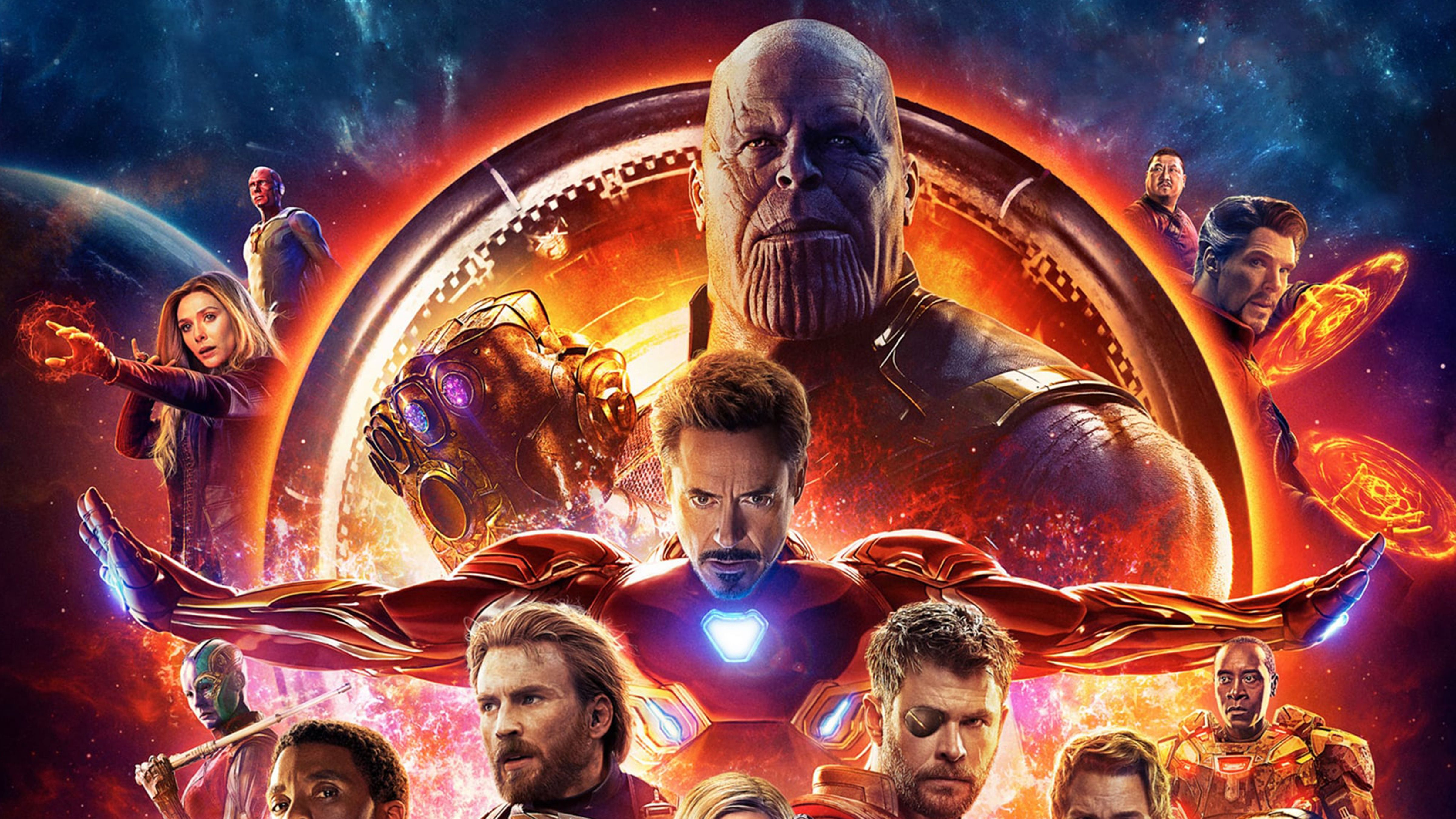 Avengers Infinity War Iphone Wallpaper: Avengers: Infinity War 4K Wallpapers