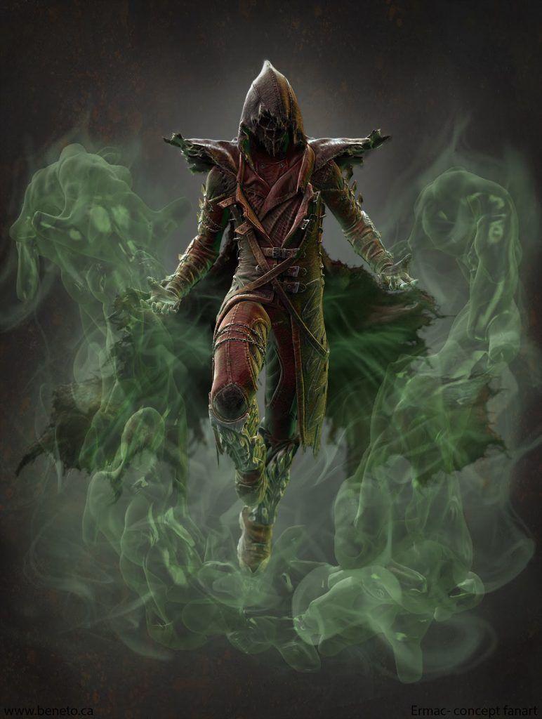 Mortal Kombat Ermac Wallpaper 14