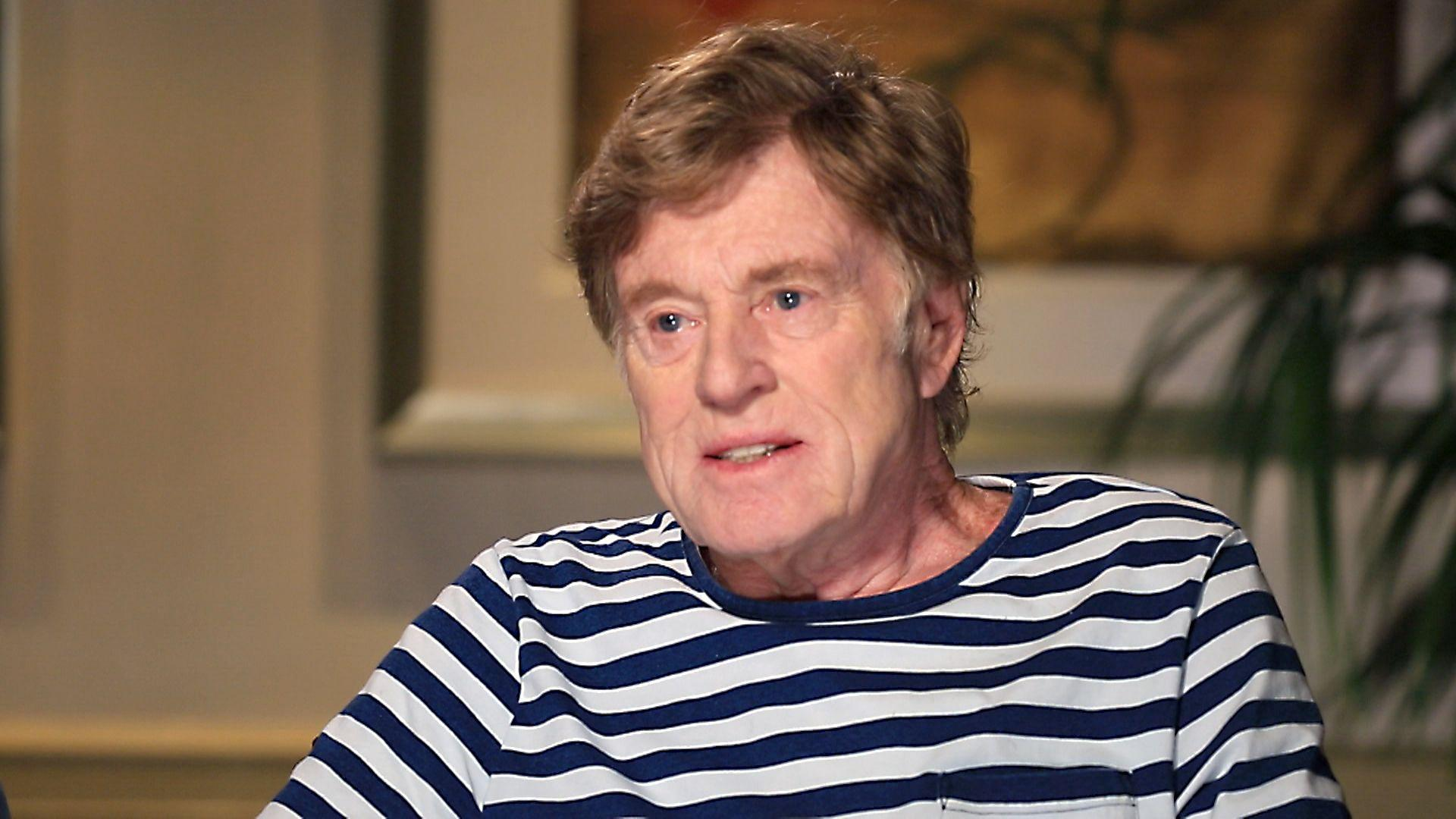 Robert Redford tells TODAY show why he won't watch his own movies