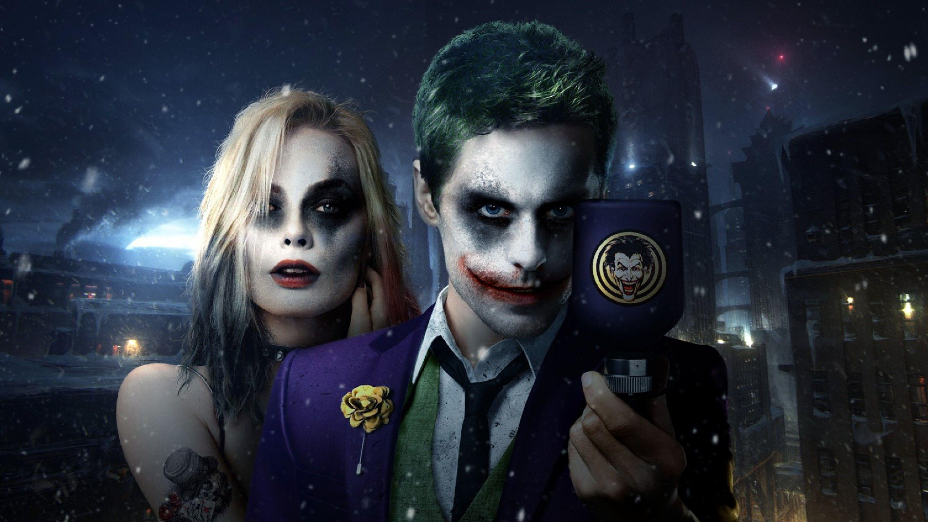 Harley Quinn And Joker HD Wallpapers