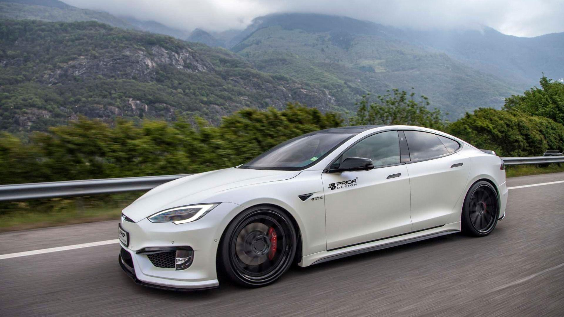 Tesla Model S Gets Aggressive Touch With Tuner's Aero Kit