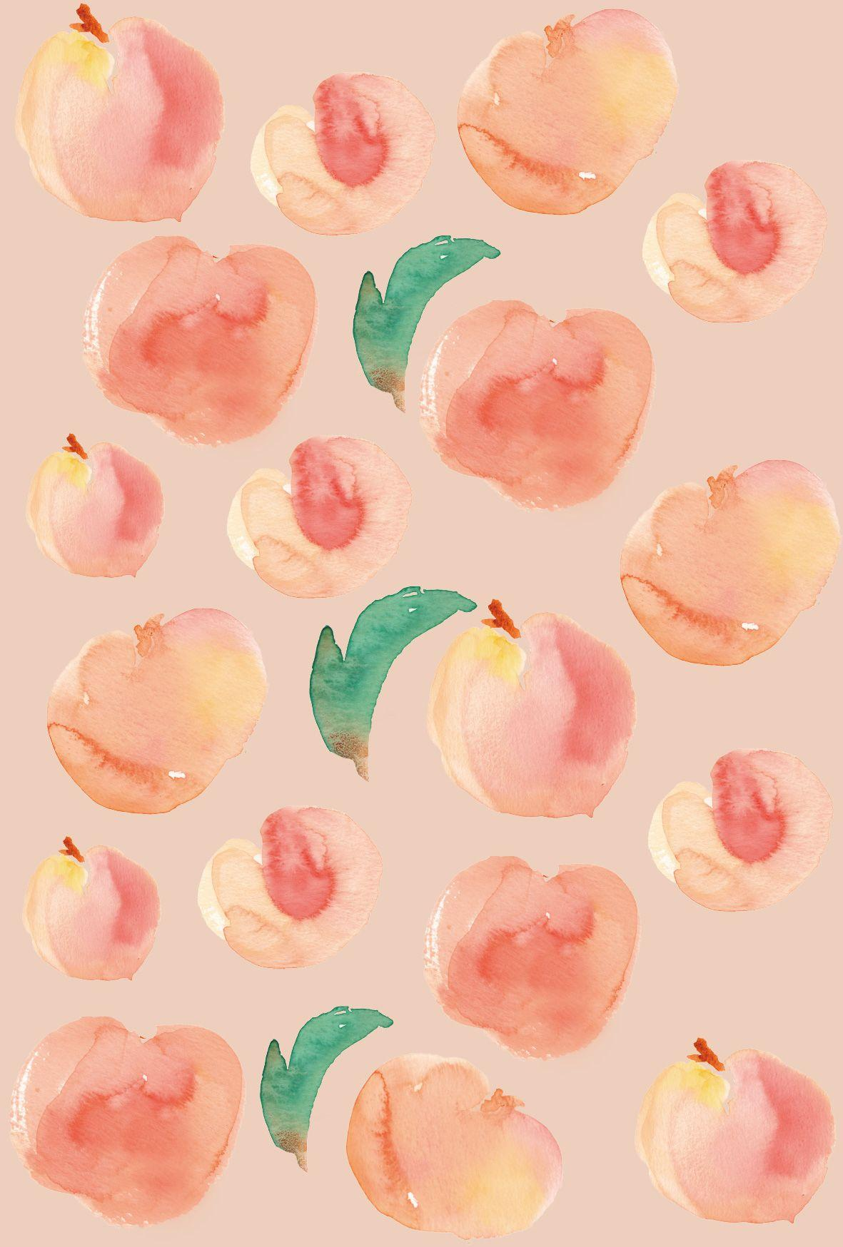 Peach Wallpapers Wallpaper Cave