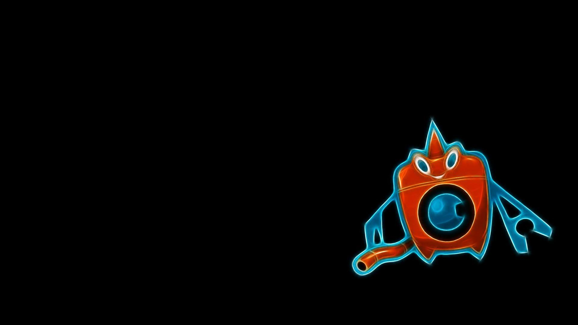 Pokemon rotom wash black backgrounds wallpapers