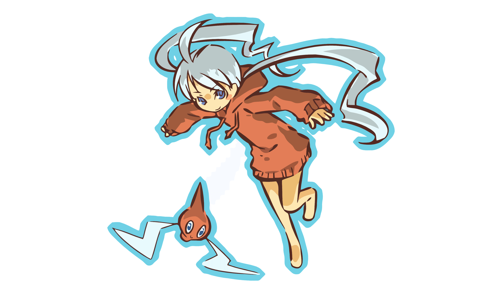 Hitec Pkemon Rotom Simple Background - WallDevil