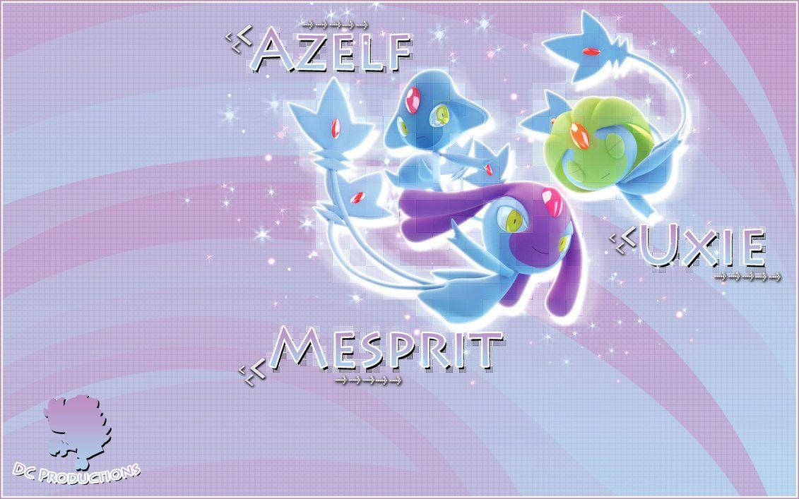 Uxie Mesprit Azelf Wallpapers by demoncloud