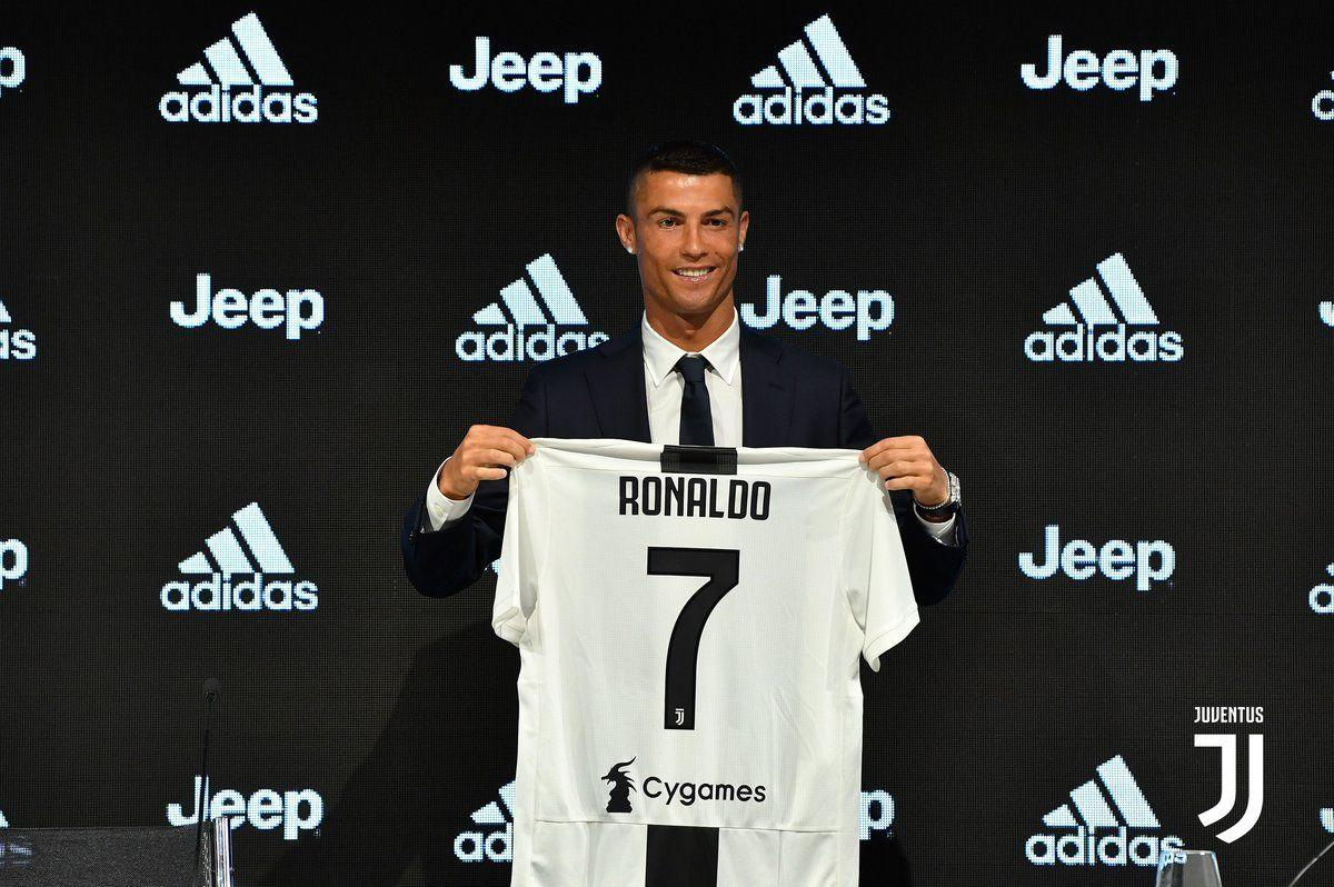 Ronaldo ready for 'brand new challenge' after Juventus unveiling