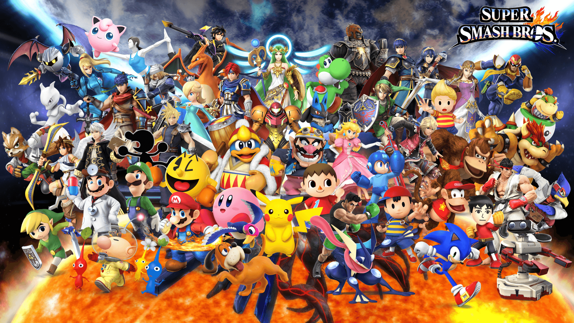 Super Smash Bros Ultimate Wallpapers Wallpaper Cave