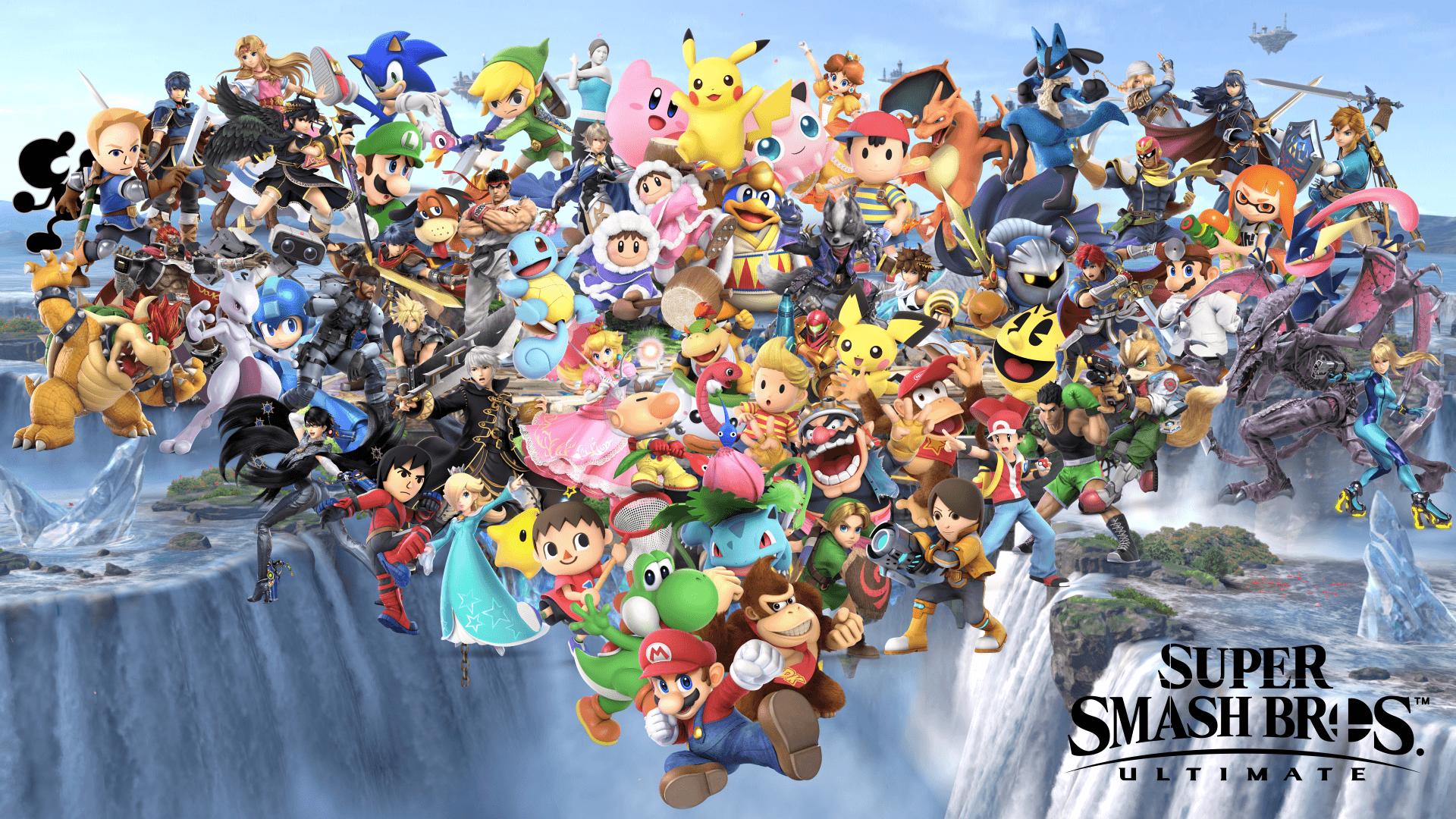 Super Smash Bros Ultimate Wallpapers  Wallpaper Cave