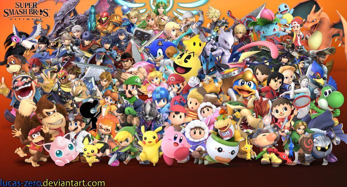 Super Smash Bros. Ultimate Wallpapers - Wallpaper Cave