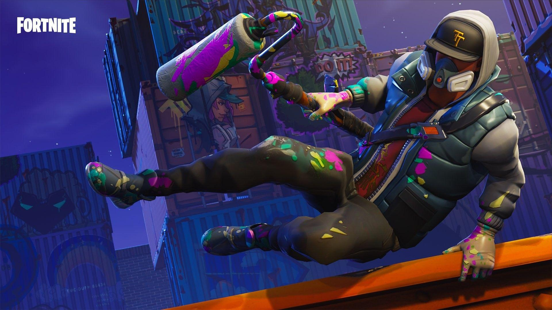 Fortnite Battle Royale Abstrakt Skin, HD Games, 4k Wallpapers