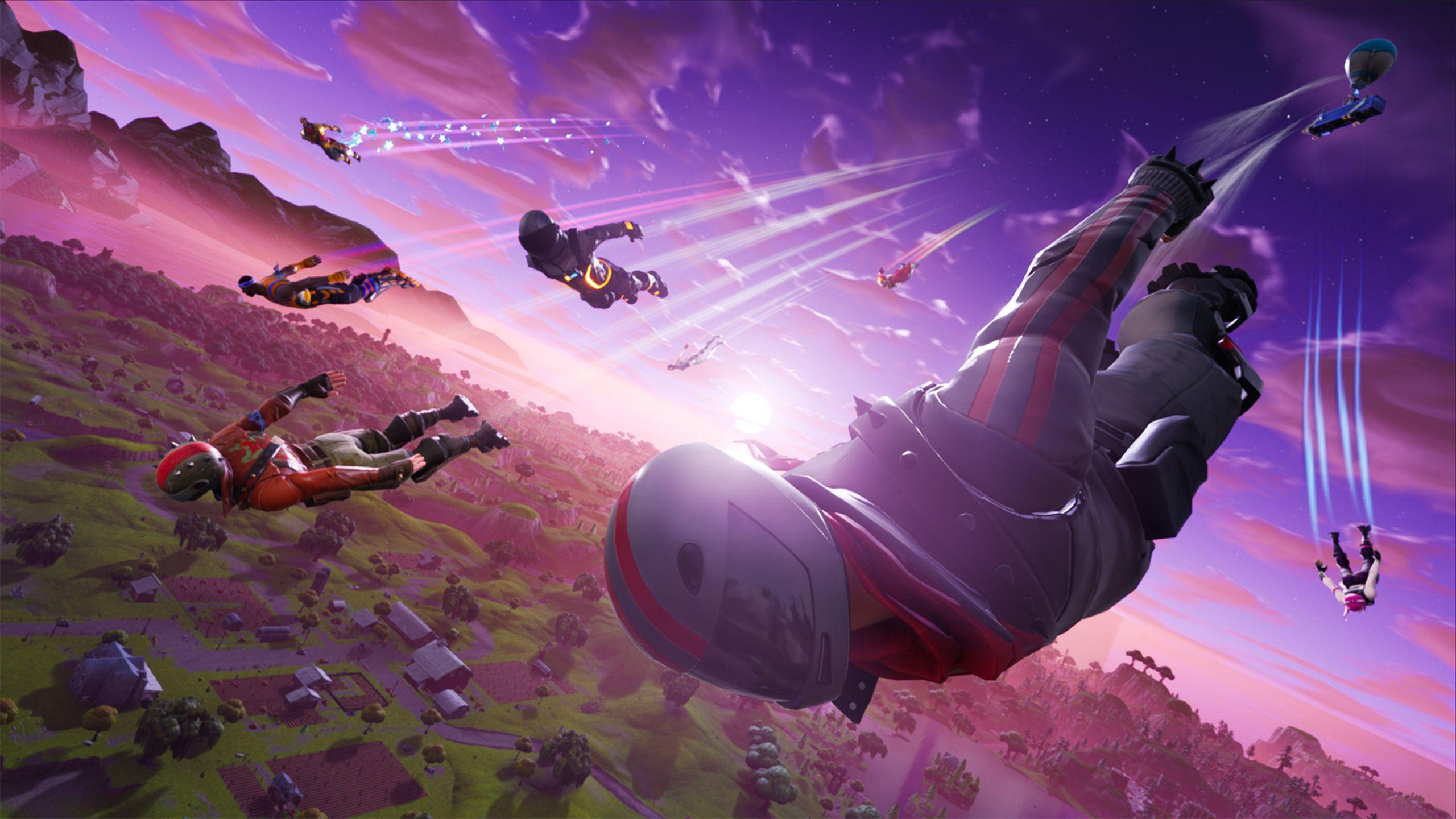2560x1440 Fortnite Battle Royale HD 1440P Resolution HD 4k