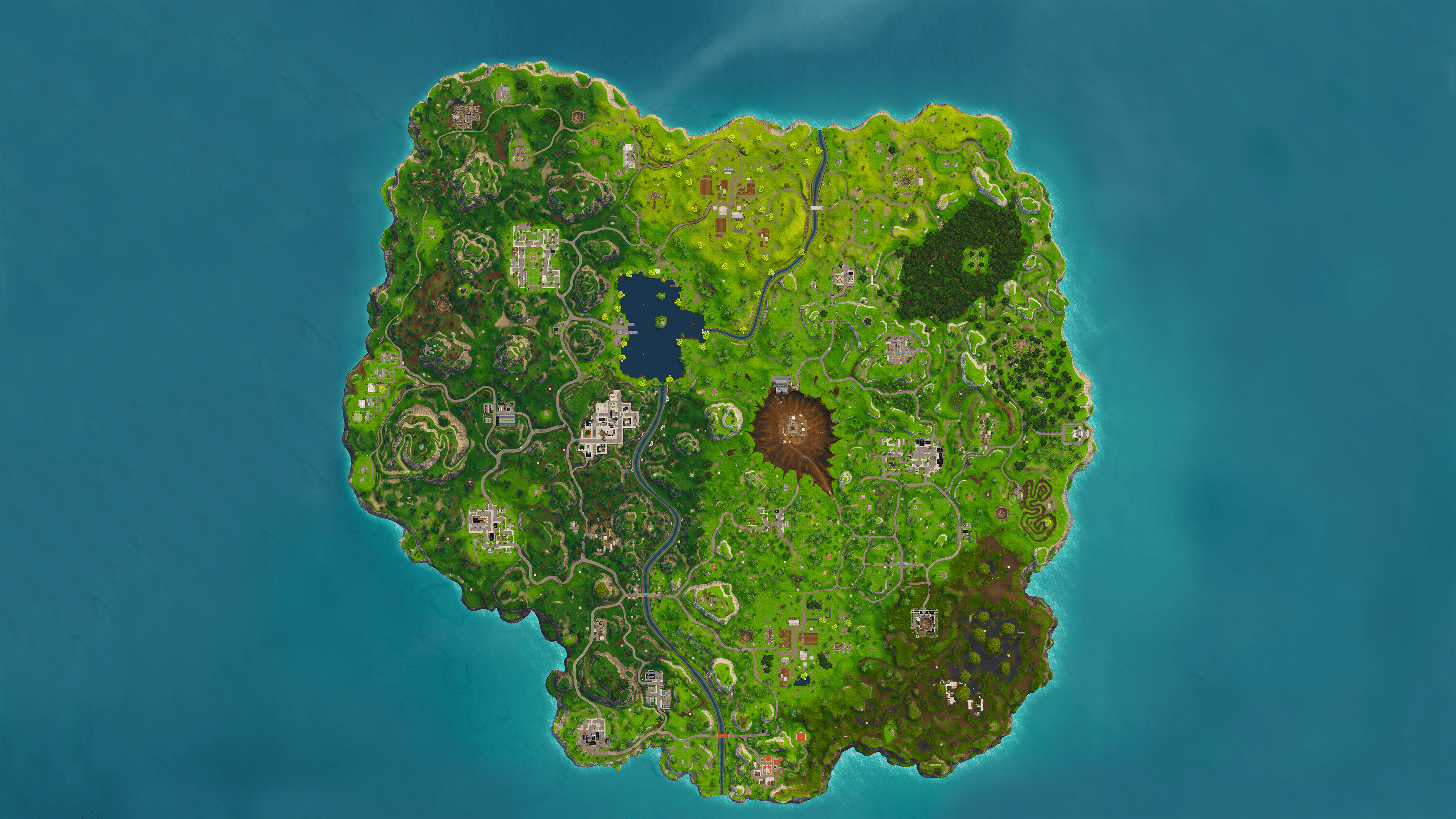 I made a 4K wallpapers of the high quality Season 4 map posted by u