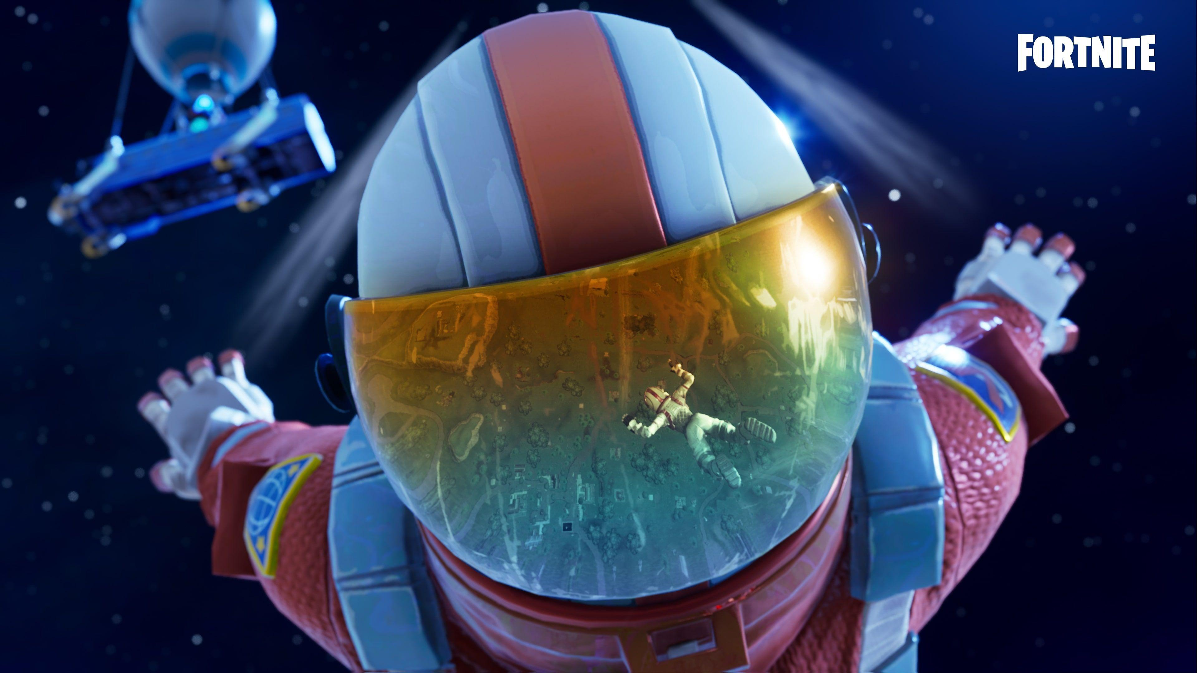 Fortnite 4K Wallpapers Battle Royale Skydive Wallpapers and