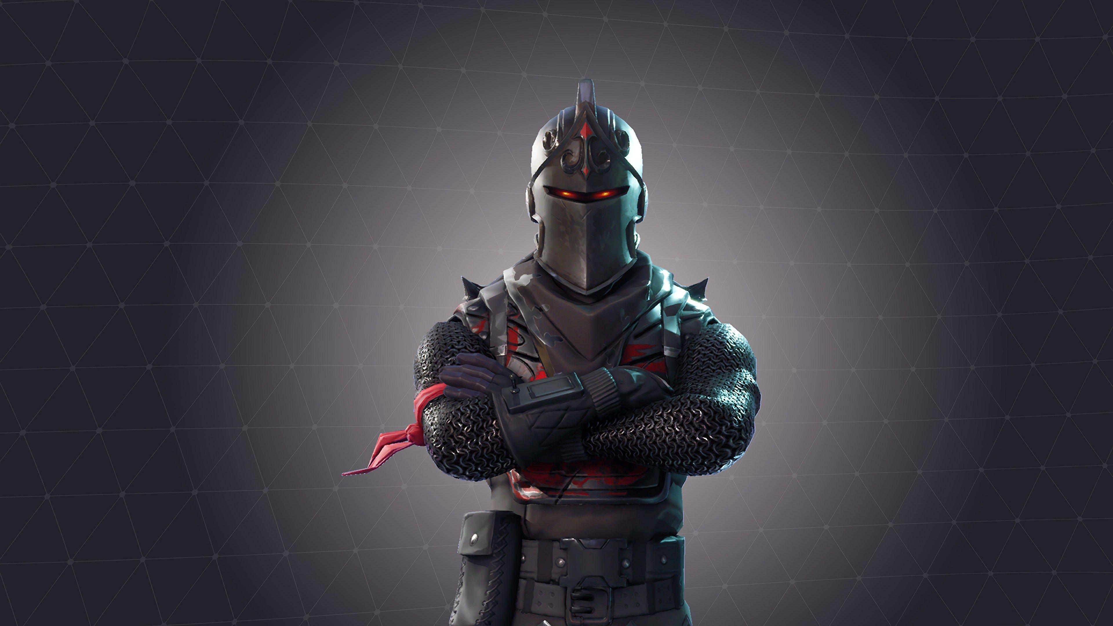 Black Night Fortnite Battle Royale Wallpapers