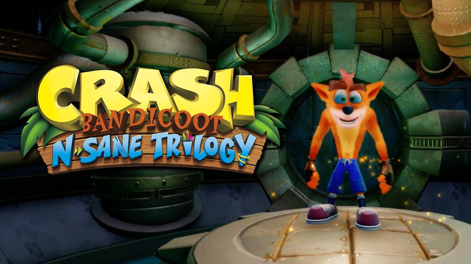 Crash Bandicoot N Sane Trilogy Wallpapers Wallpaper Cave