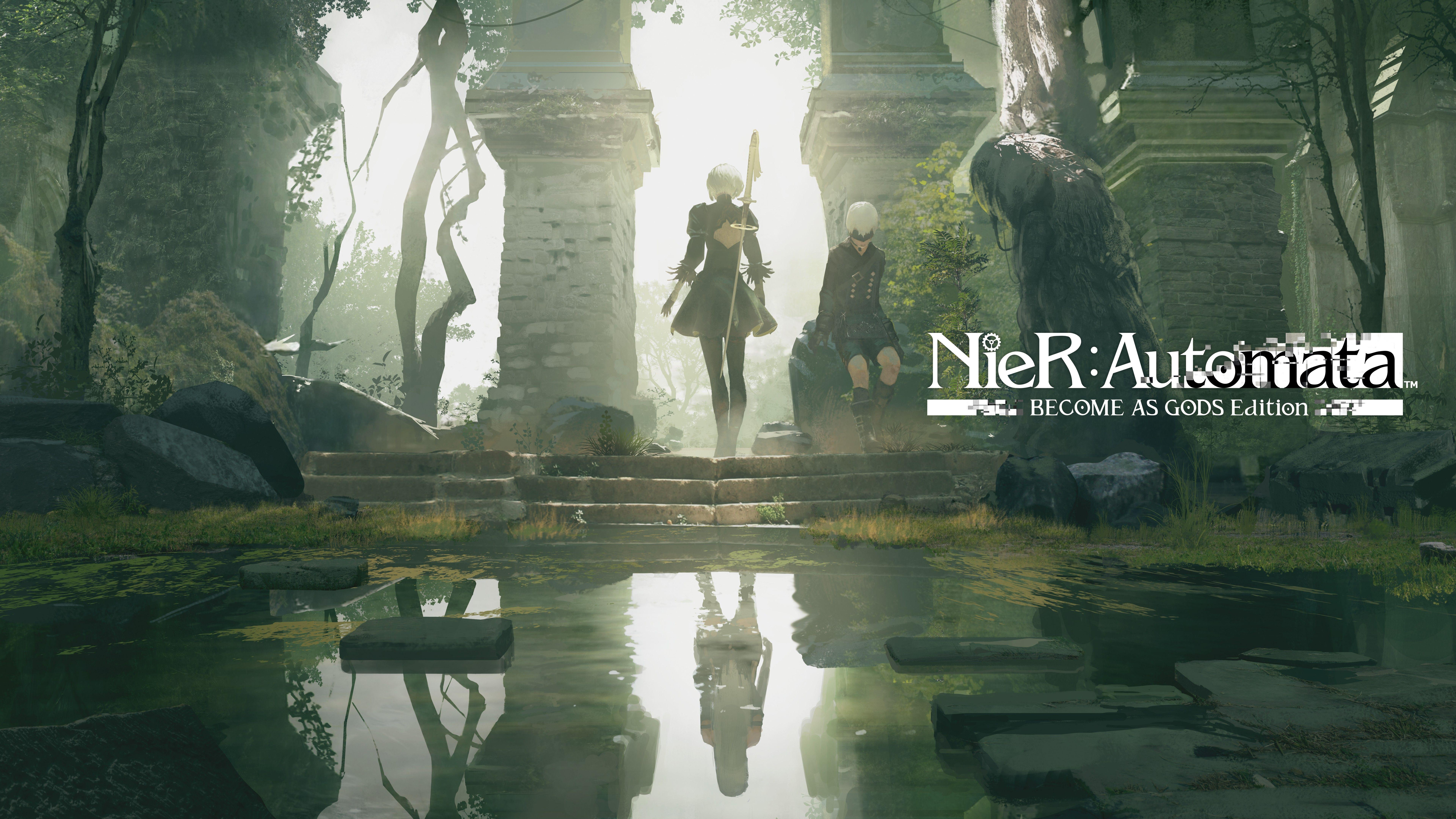 Wallpapers Nier: Automata, Become as Gods Edition, Xbox One, 2018