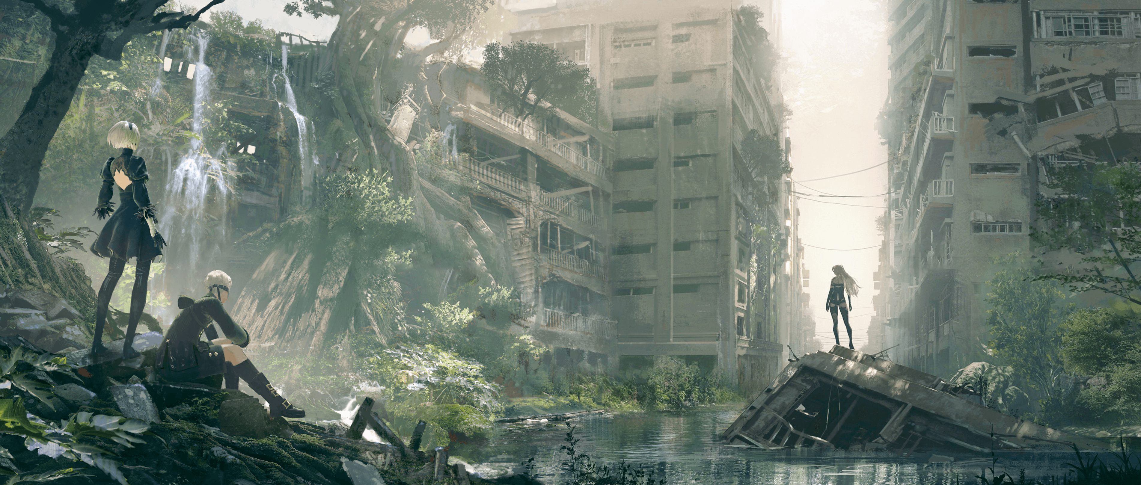 Nier Automata: Become As Gods Edition Wallpapers ...