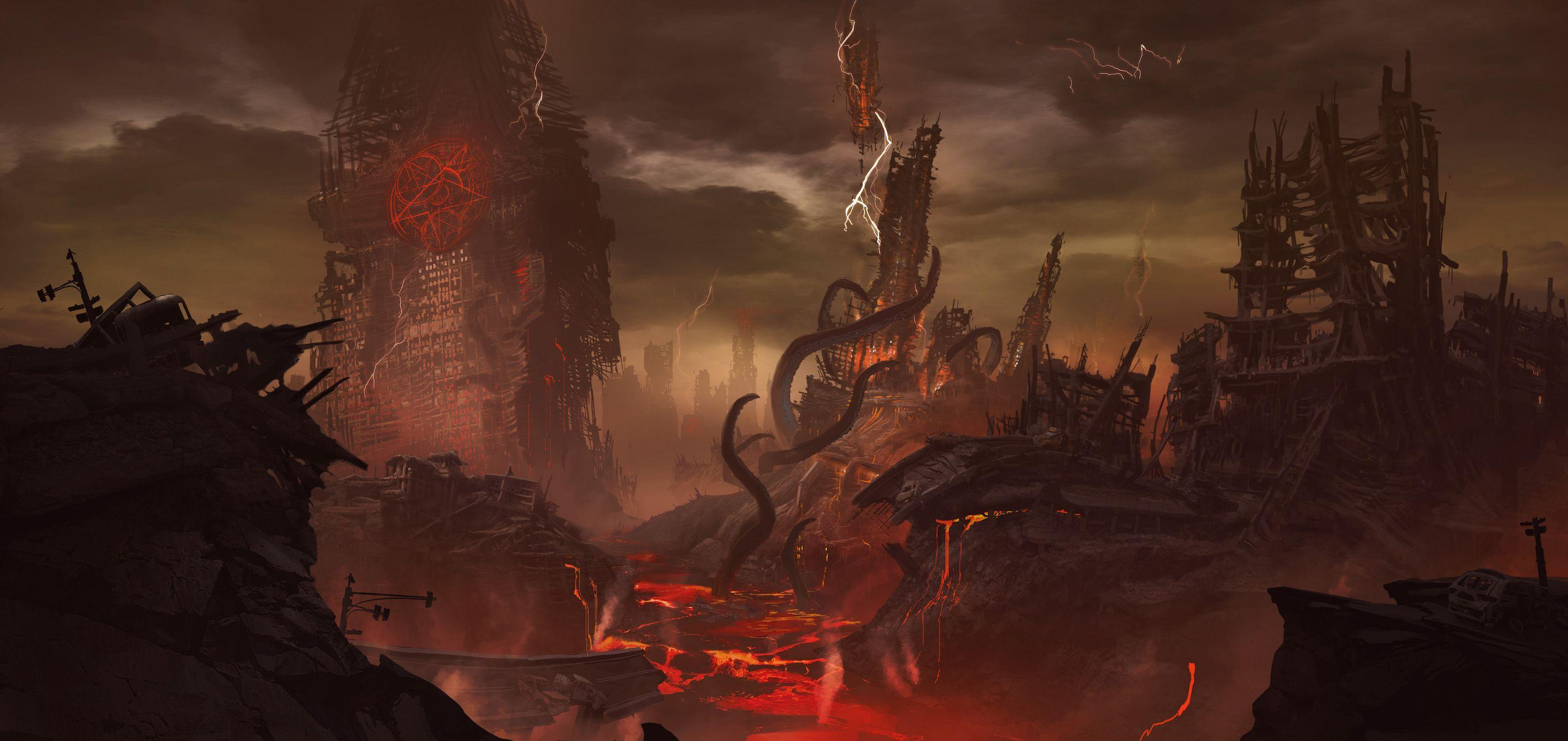 Doom Eternal Hd Wallpapers Wallpaper Cave