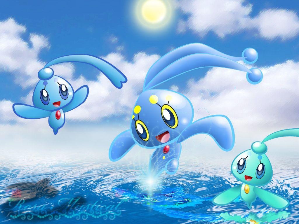 Manaphy and Phione by Rosa