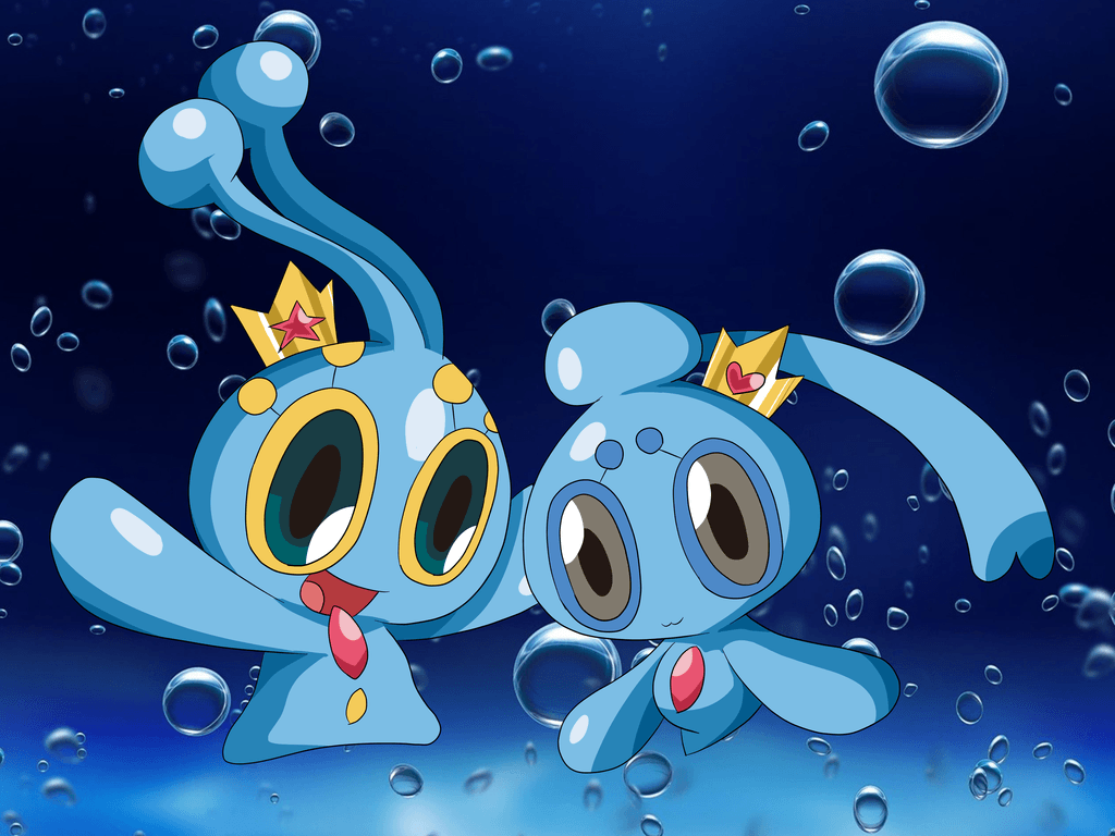 Prince Manaphy and Princess Phione by Alessia-Nin10doh on DeviantArt