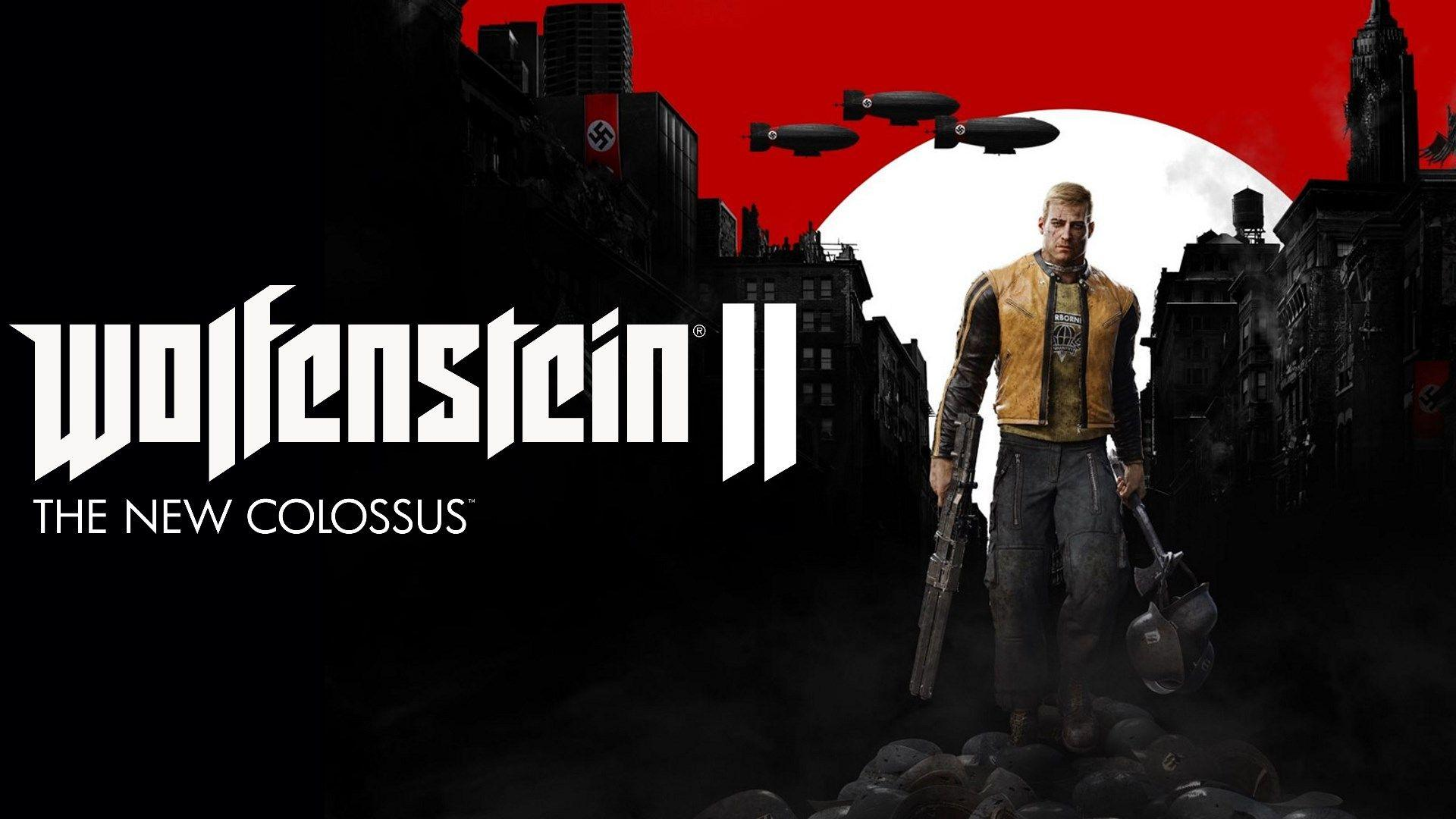 Wolfenstein Ii The New Colossus Wallpapers Wallpaper Cave