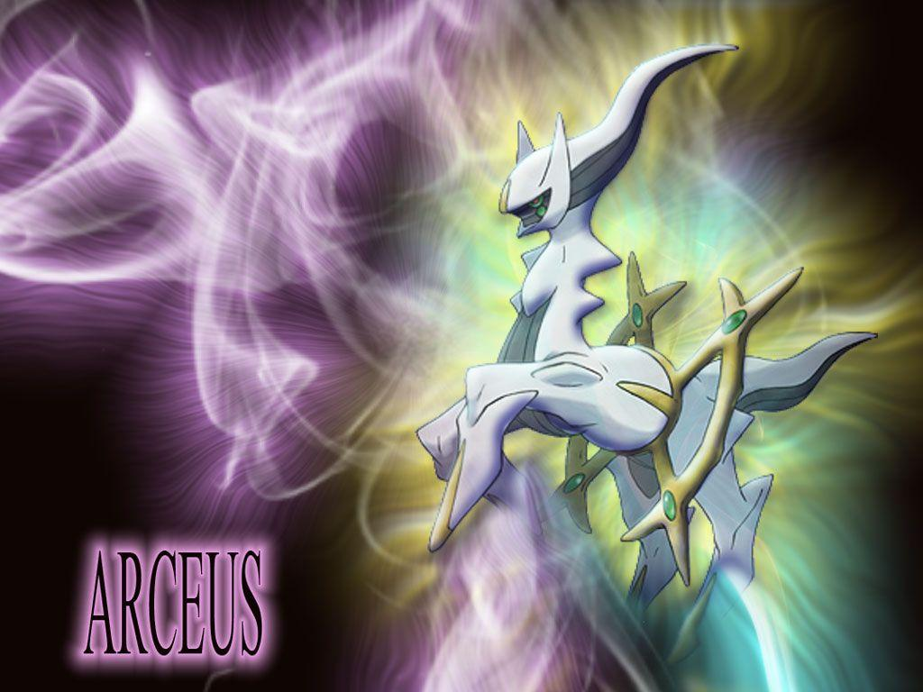 High Definition Pokemon Arceus Wallpaper - FHDQ Cover