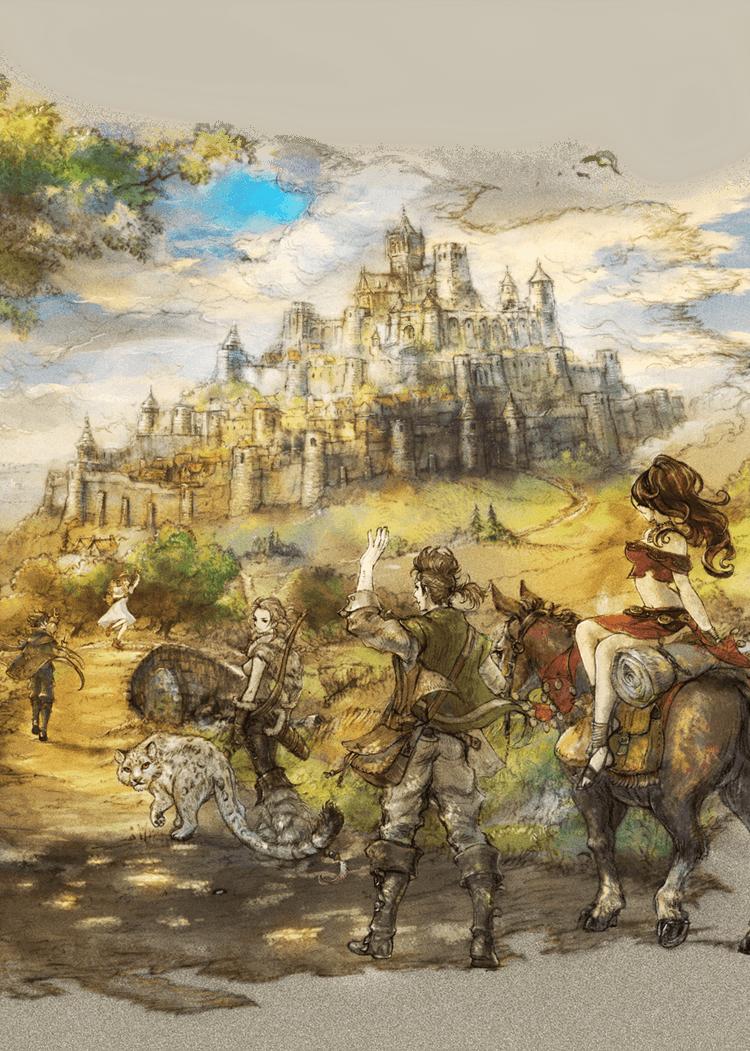 Octopath Traveler Wallpapers - Wallpaper Cave