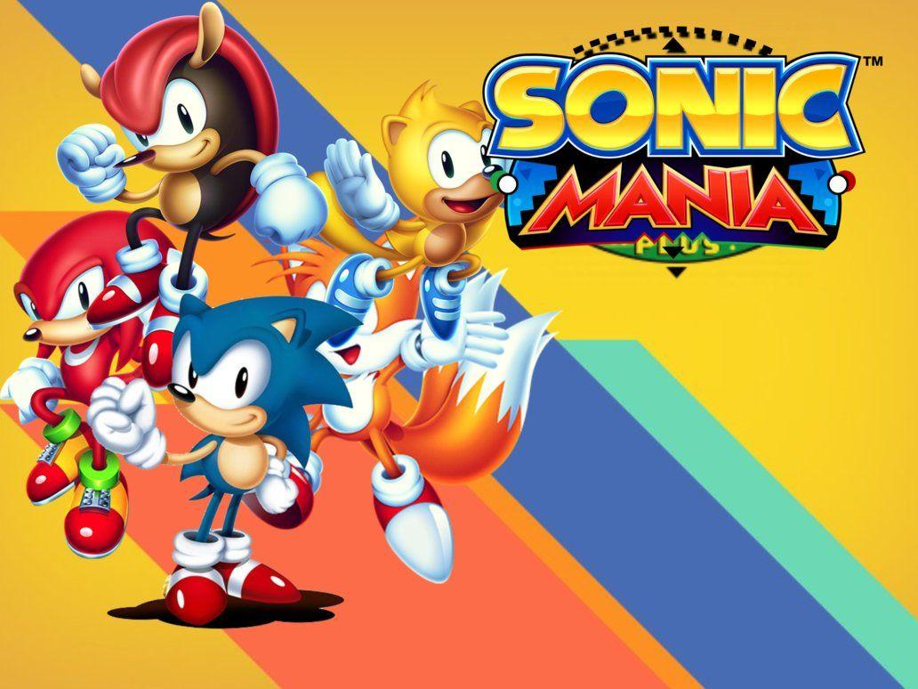 Sonic Mania Plus Wallpapers For iPad Mini 4 V.1 by ArtificialGreninja