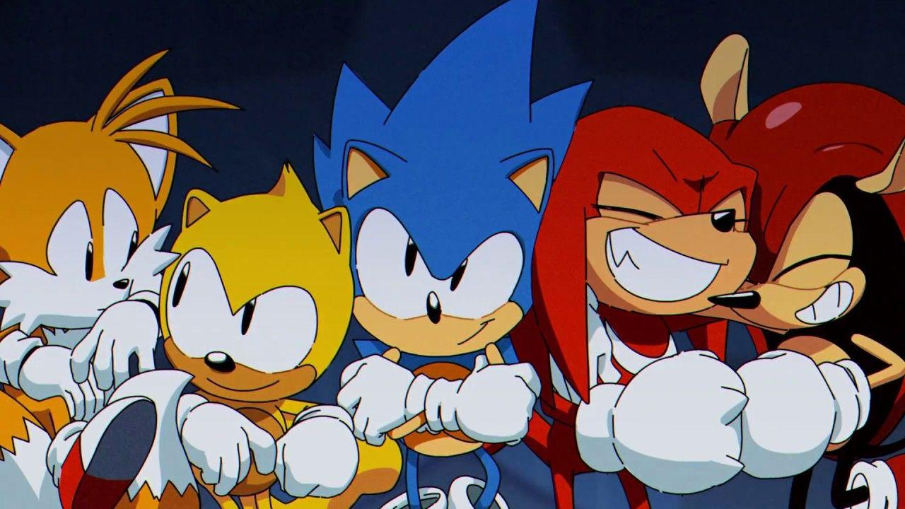 Sonic Mania Plus' Celebrates Its July Release With An Adorable New