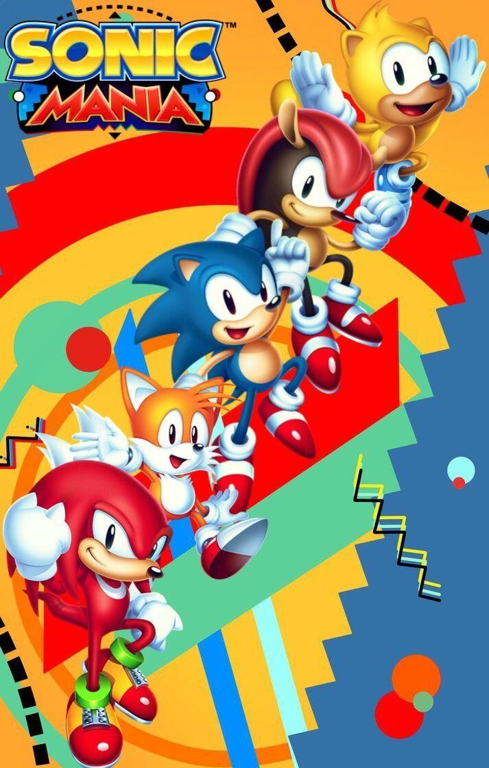 sonic mania sonic mania plus knuckles the echidna miles tails prower