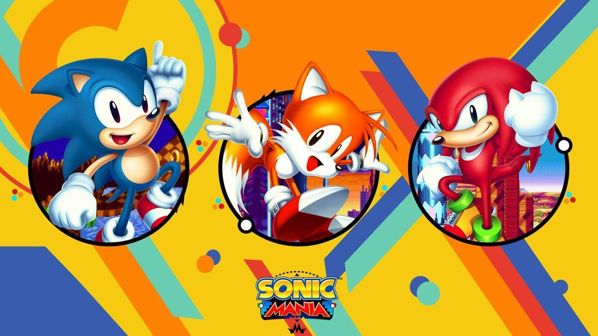 Moregy on Twitter: Made a Sonic Mania Wallpapers if anyone wants to