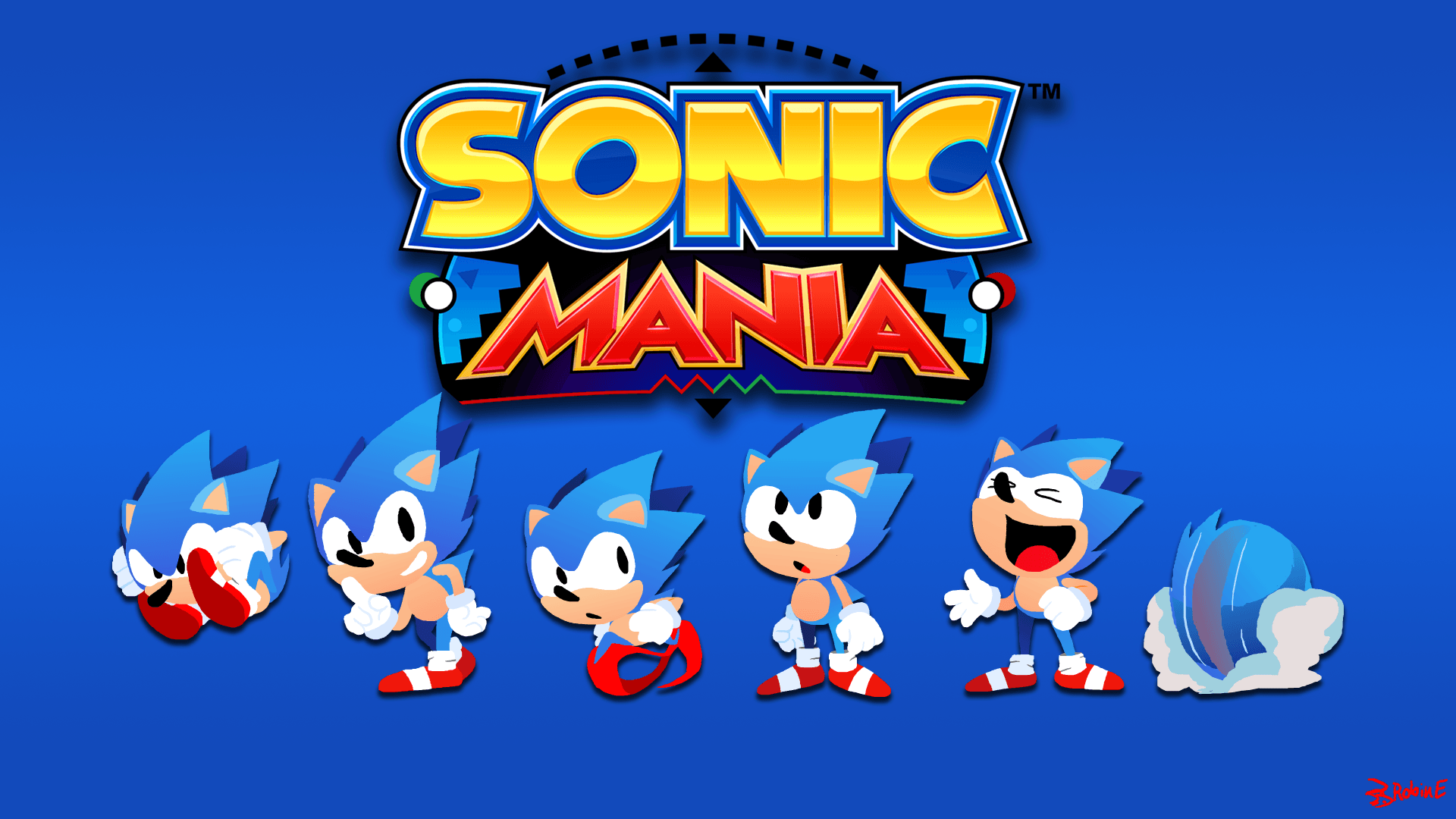 Sonic Mania by ForeveraToon on Newgrounds
